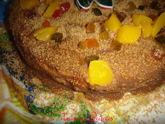 Torta gelada de panetone