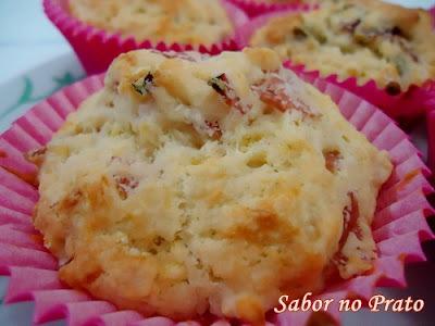 de muffin salgado de legumes