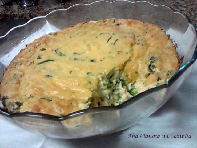 sufle de legumes com creme de leite fácil