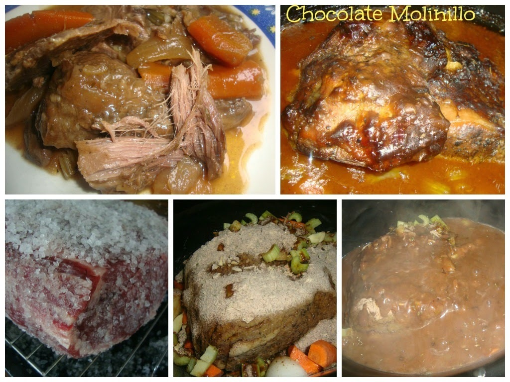 Roast Beef al estilo Chocolate Molinillo