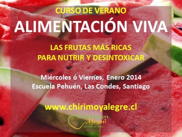 Curso de Verano!! Frutas y Verduras para desintoxicar y renovarte