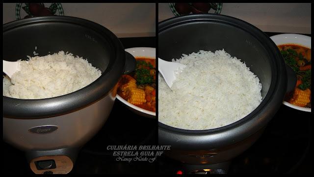 na panela eletrica de arroz fazer sopa