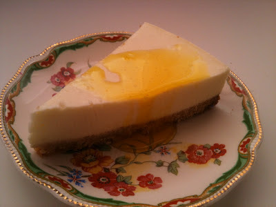 Cheesecake de limón - Lemon cheesecake