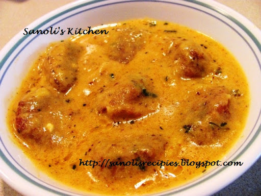 SOYA PANEER KOFTA CURRY