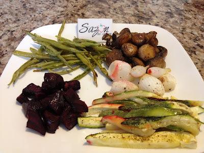 Verduras al horno con anís