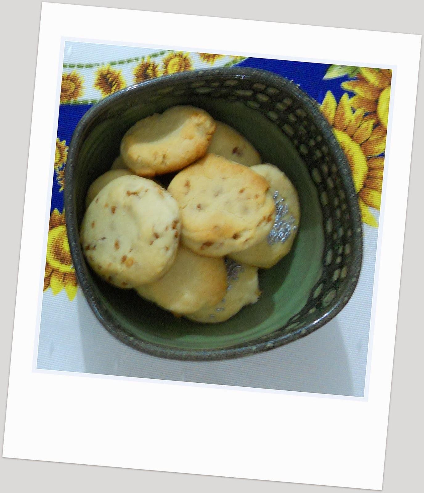 Galletitas de leche condensada ... 3° reto BBSS por una alimentación más saludable
