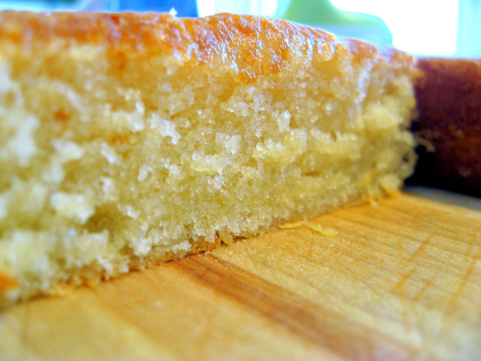 Eggless moist and spongy Pineapple cake