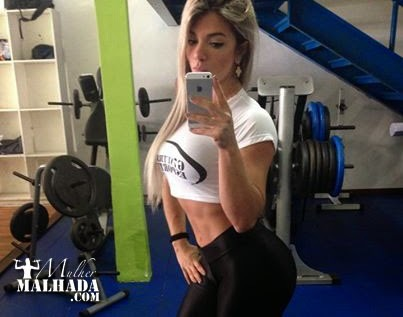 Treino de quadríceps da Atleta Roberta Zuñiga do dia 21 de agosto de 2014