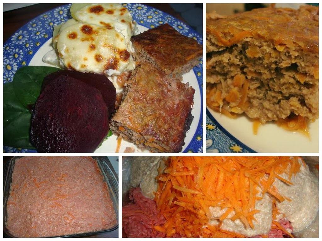 Pastel de Carne con Zanahoria