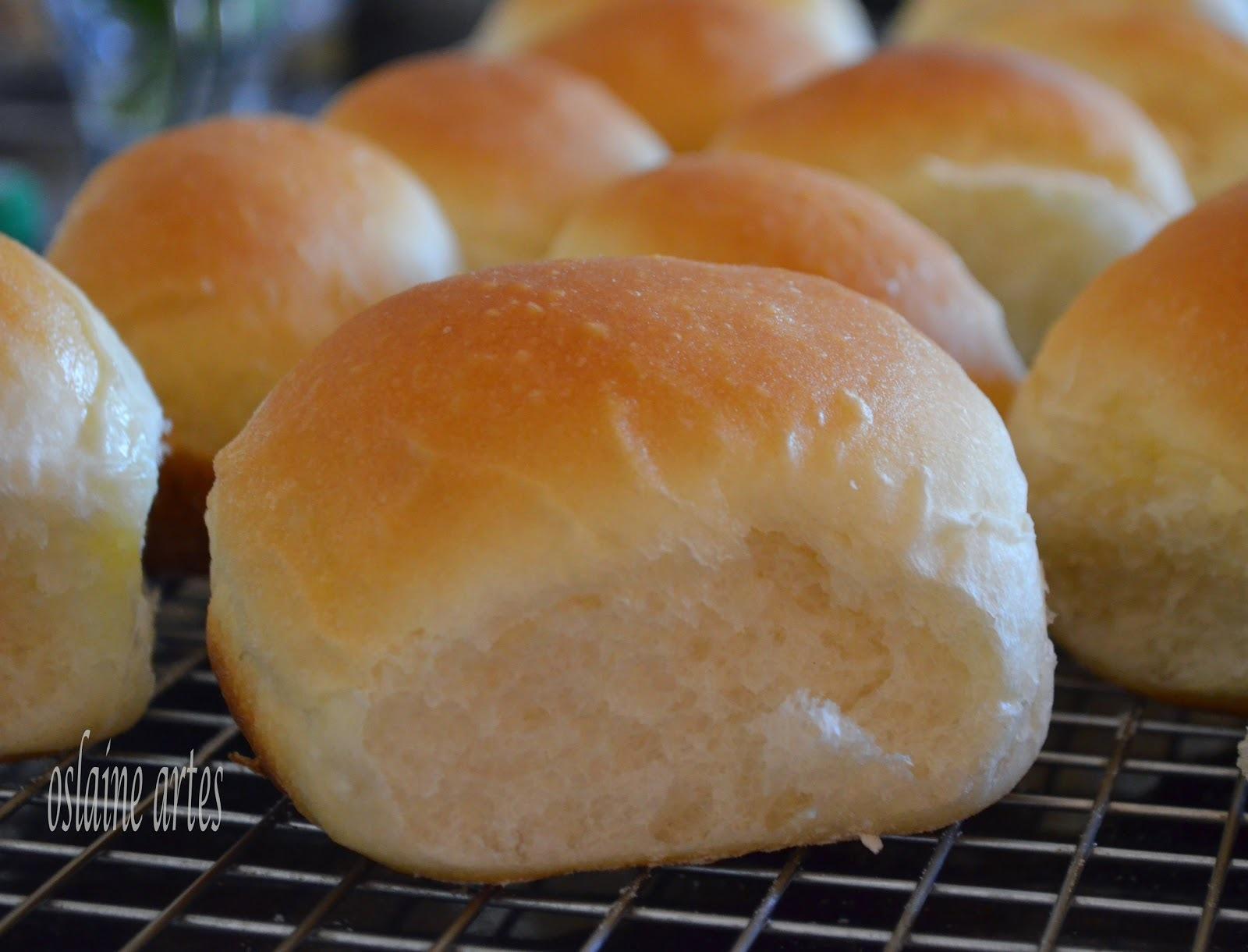 Pão Tipo Bisnaguinha com Leite em Pó