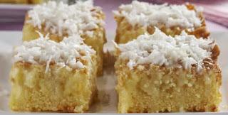 bolo de milho cremoso com leite condensado fuba leite de coco ovos e milho