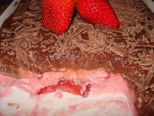 bolo sensação com recheio de mousse