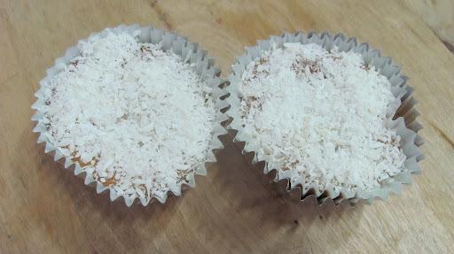 Cupcake de Toalha Felpuda