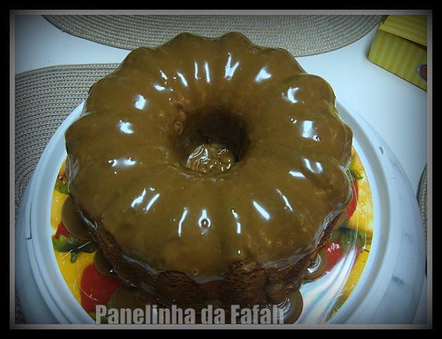 Bolo de Chocolate  e Brigadeiro para Maria Fernanda