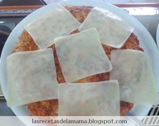 Receta de Tortilla de sobrasada con queso