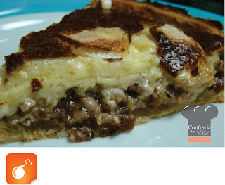 torta de massa podre calabresa e queijo