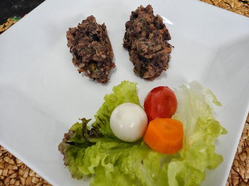 bolinho de carne moida com aveia assado