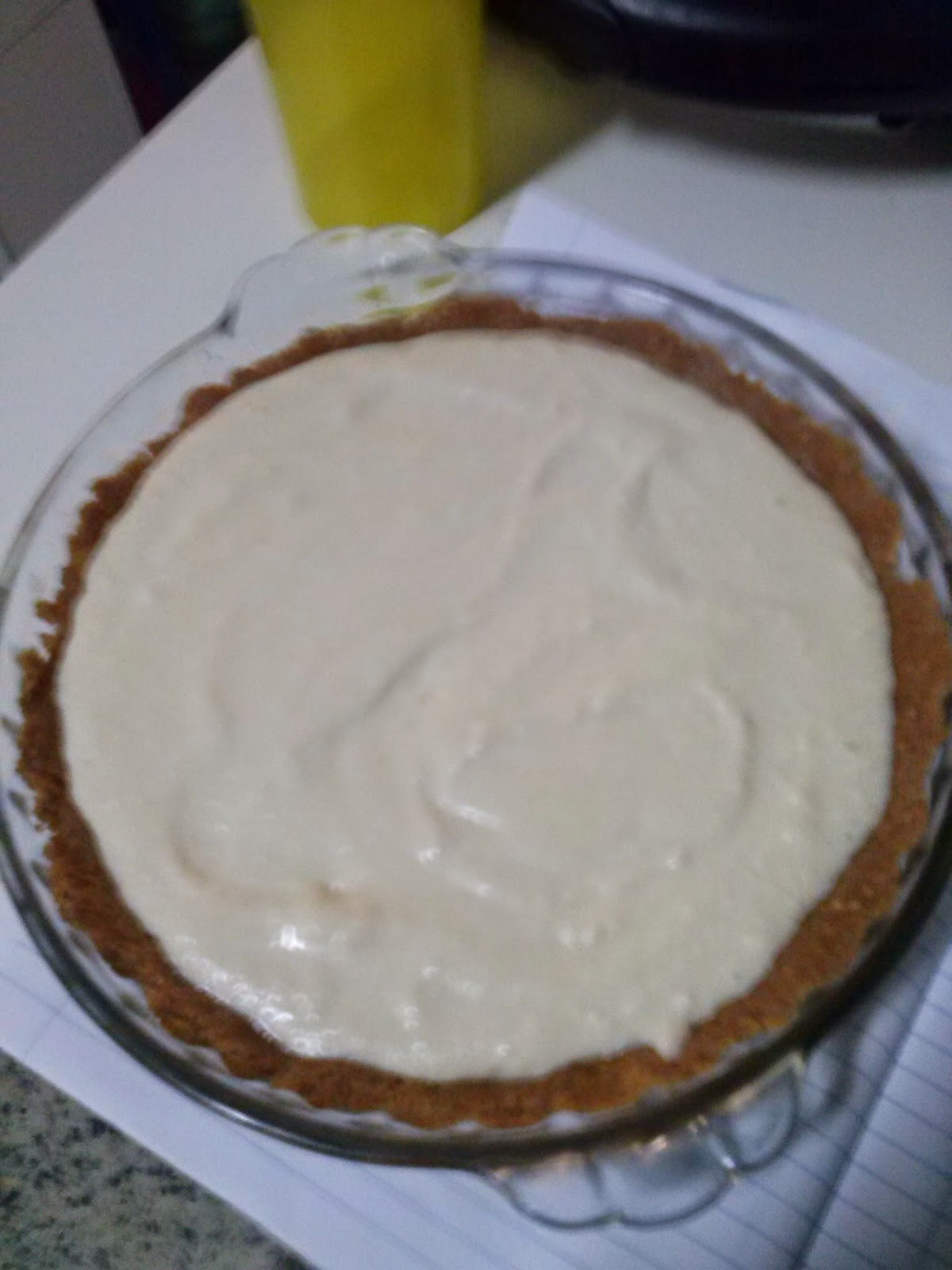 Receita de cheesecake - Cheesecake recipe