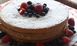 Naked cake, famoso bolo pelado