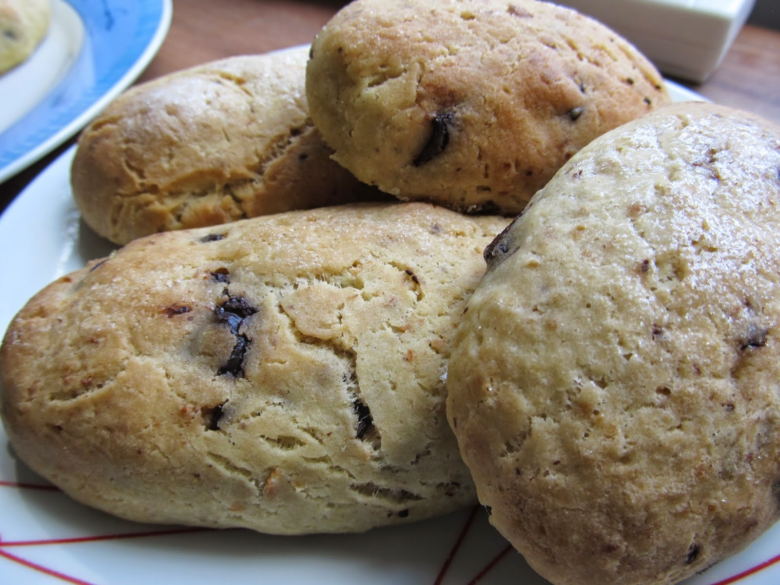 Csokis pettyes briós kiflik (glutén-, tej-, tojásmentes)