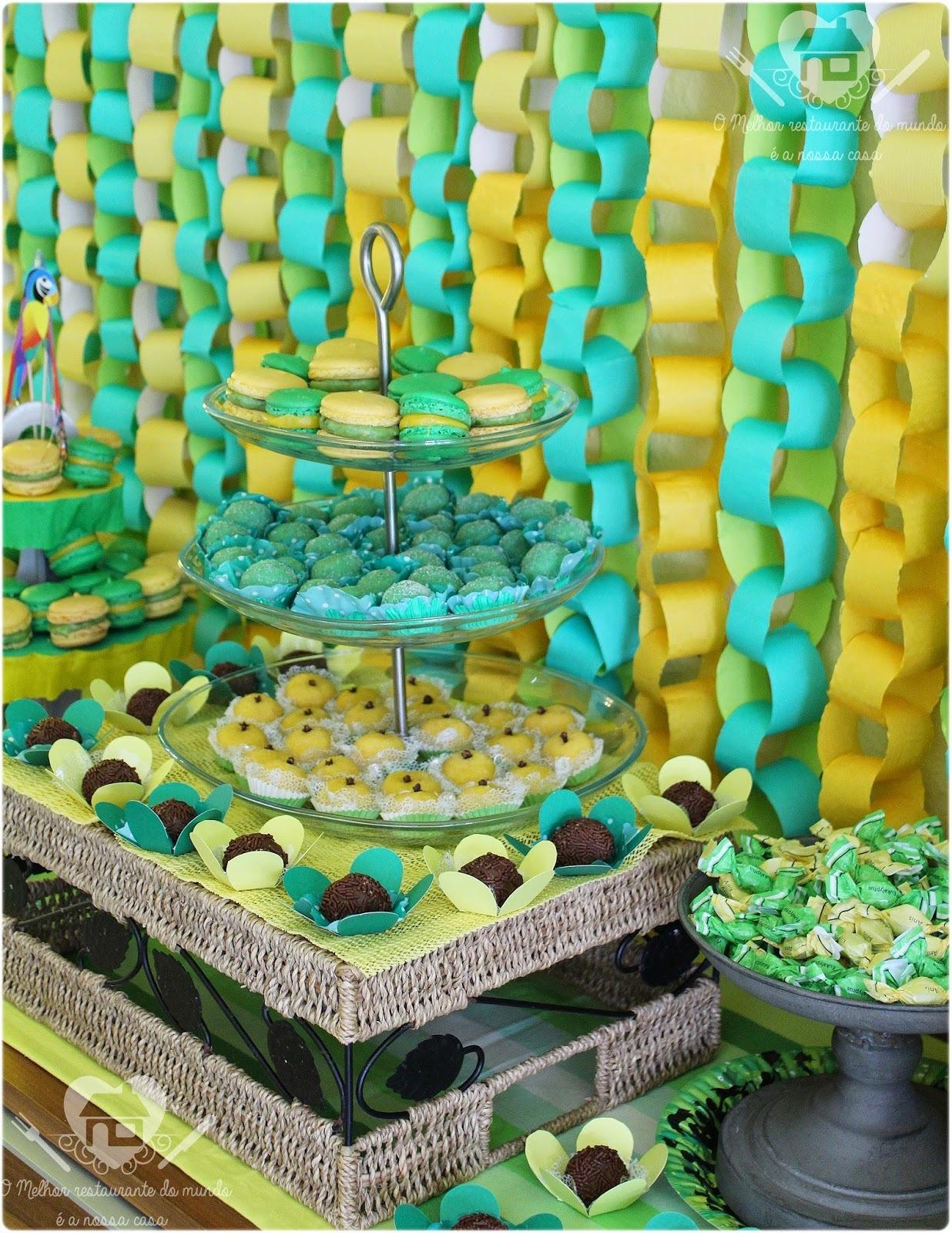Festa verde e amarela
