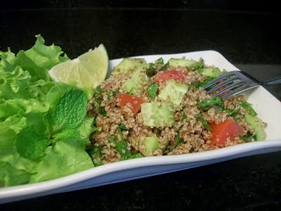 Tabule, aprenda a fazer este prato de salada