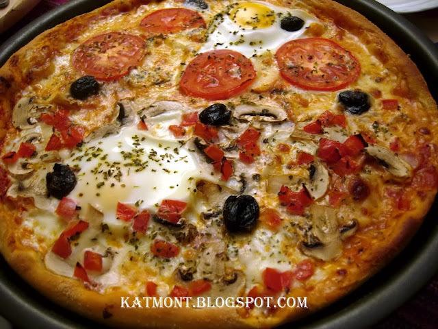 Massa de pizza caseira - Pâte à pizza