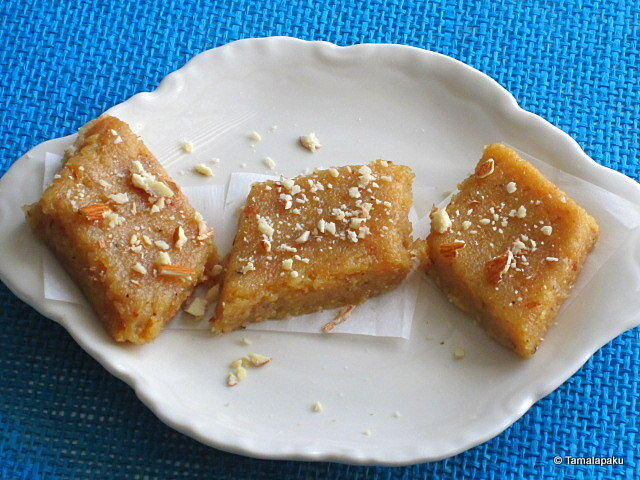 Banana-Coconut Burfi And A New Beginning!!