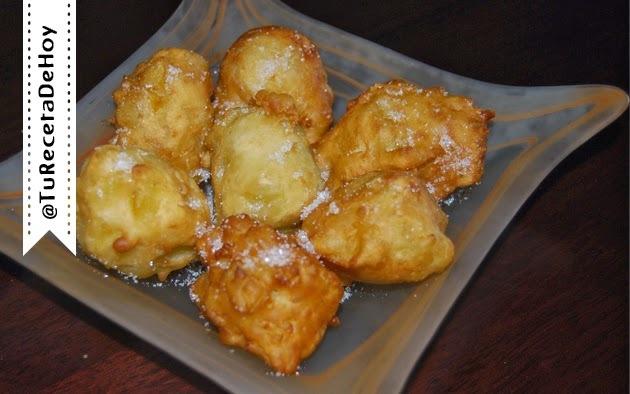 Buñuelos de manzana caseros