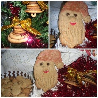 Bolachas de Natal- Dia um na cozinha