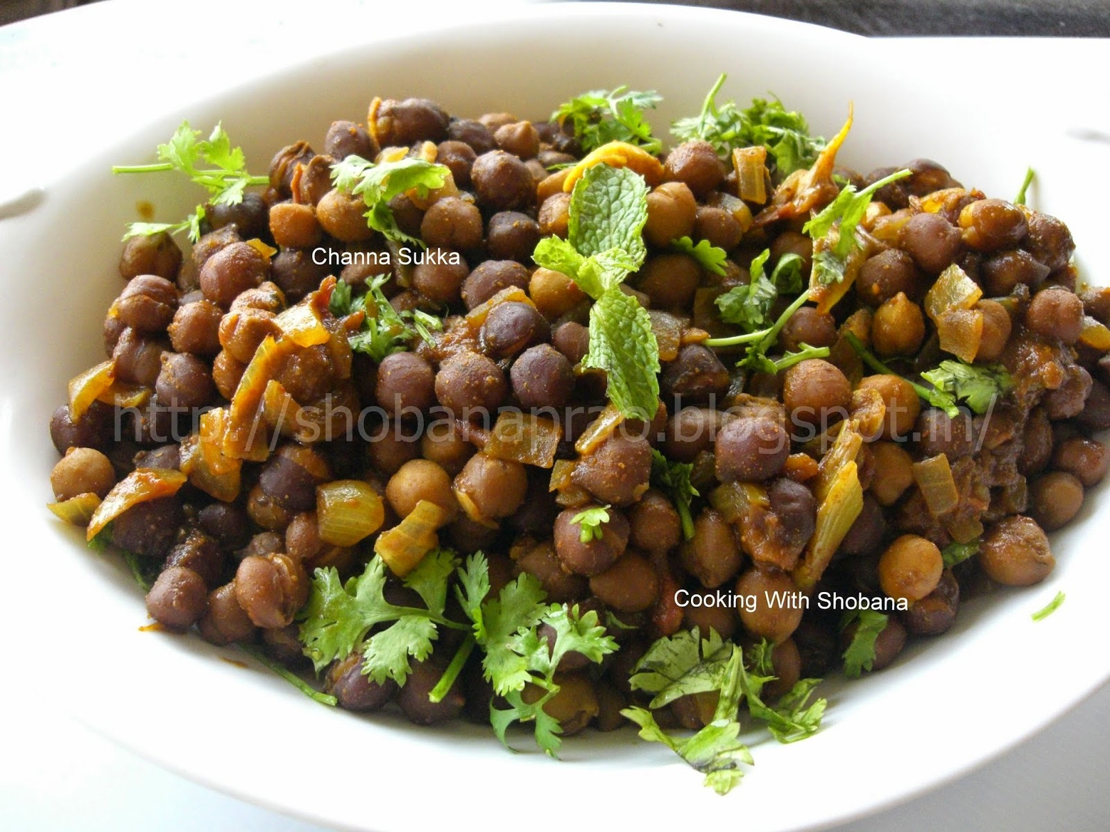 MANGALOREAN CHANNA SUKKA
