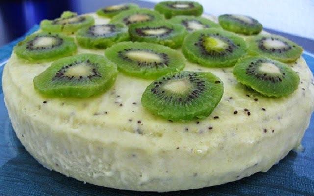 como fazer geladinho de kiwi
