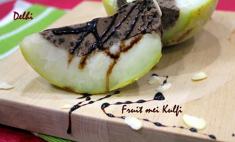 Fruit mei Kulfi - Delhi Special