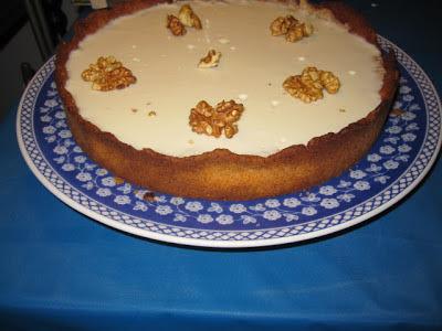 Torta de nozes (sobremesa para as festas natalinas)