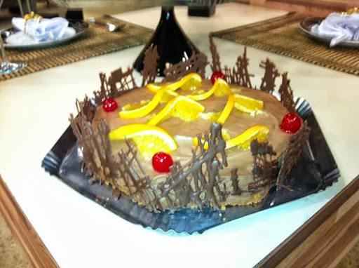 CHEESE CAKE DE CHOCOLATE