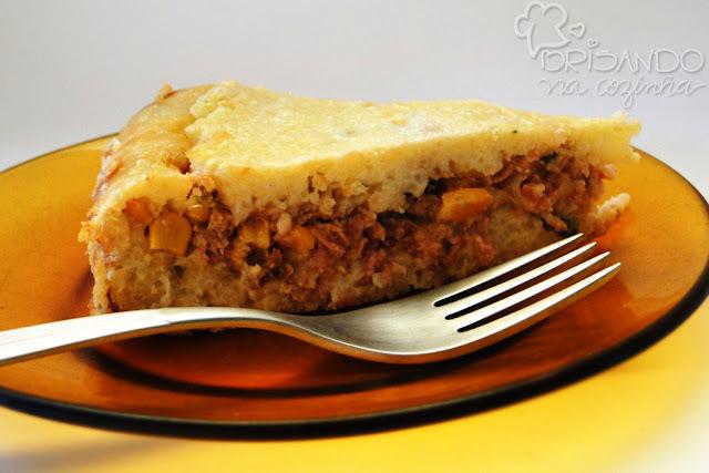 Torta restodontê (massa de arroz)