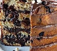bolo com frutas cristalizadas e essencia de panetone
