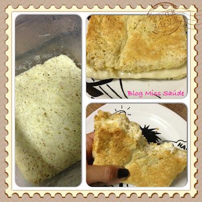 Pão de Forma de  Microondas