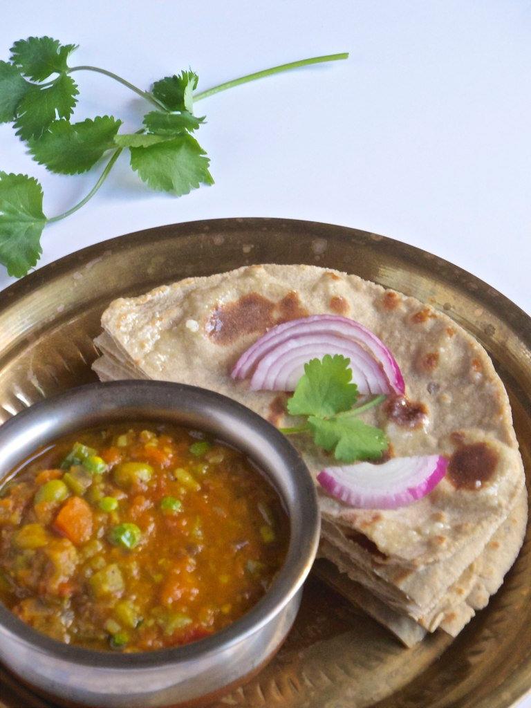 Bajra Aloo Roti - Rajasthani Breakfast