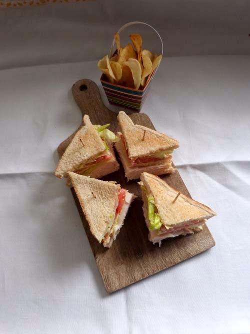 cuando no se que almorzar | club sandwich