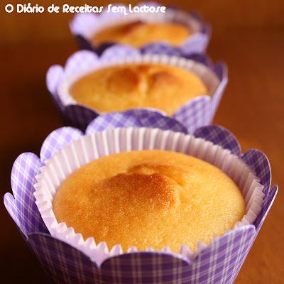 Muffins de Limão Sem Lactose