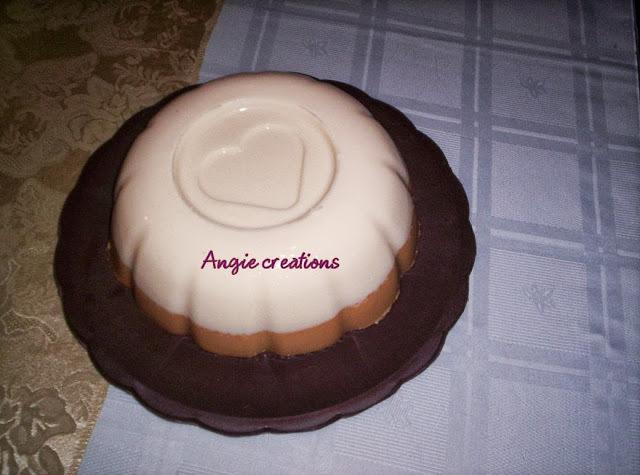 gelatina de leche y agua