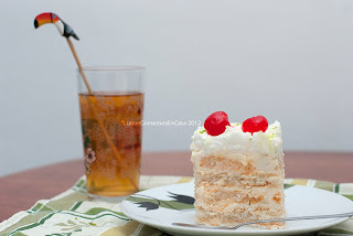 Torta fría de guanábana