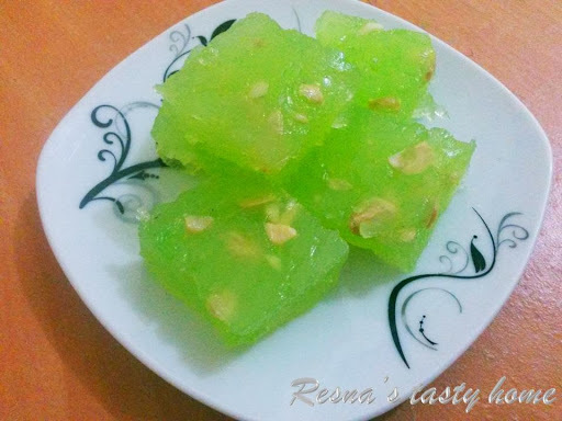 bombay ice halwa in gujarati