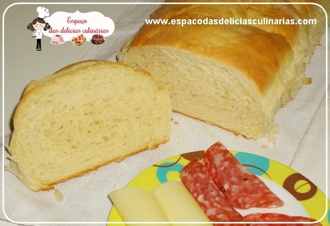 Pão caseiro (passo a passo com fotos)