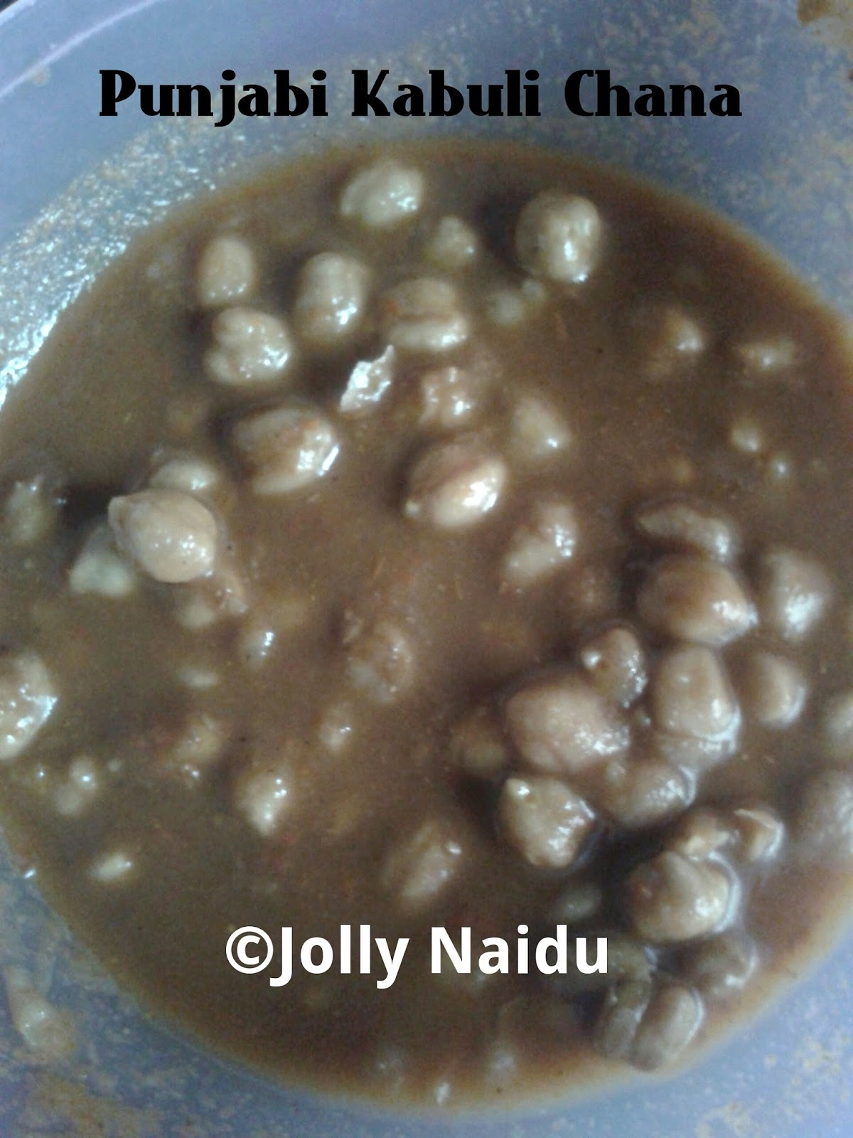 Kabuli Chana Cholley | Chickpeas in Punjabi Style