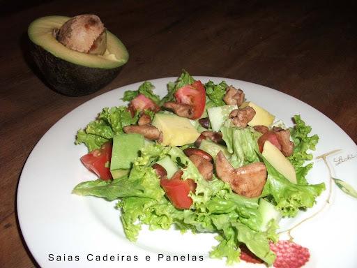 Salada Marge e os benefícios do abacate