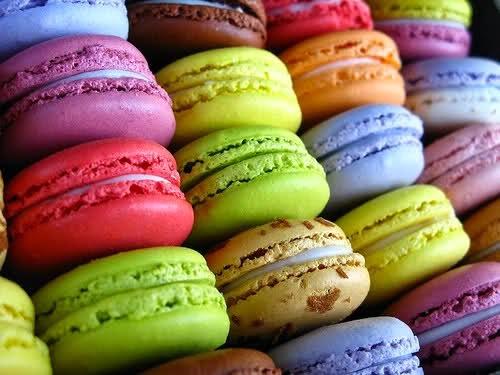 Macarons e Recheios variados