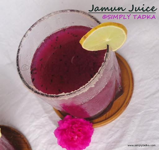 Jamun Juice/ Kala Khatta