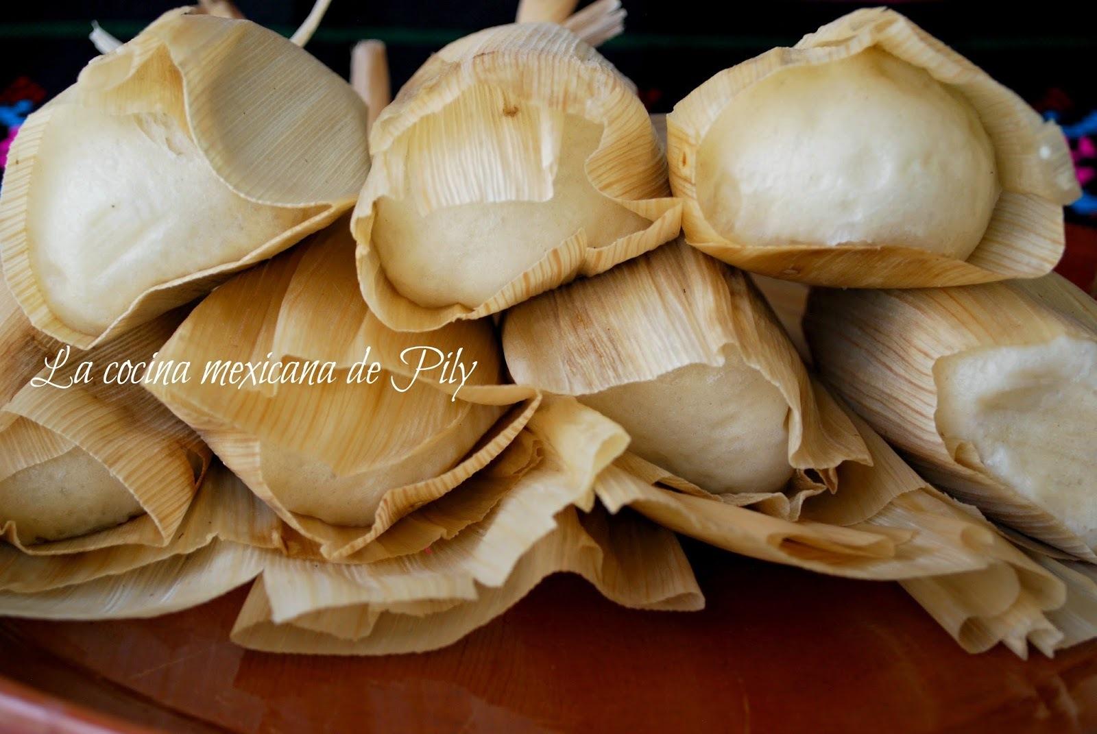Tamales de harina